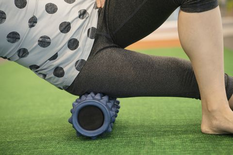 foam rolling for lateral knee pain